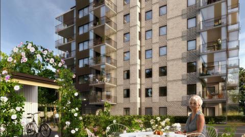 Pressinbjudan: Första spadtaget för 29 seniorbostäder i Höganäs