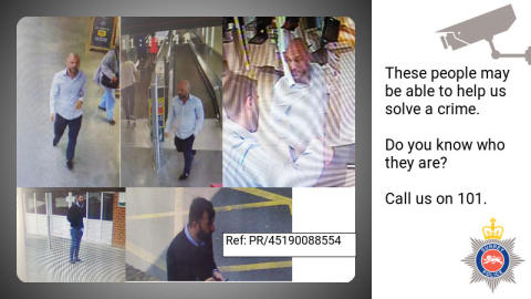 CCTV appeal following incident of theft and fraud in Weybridge