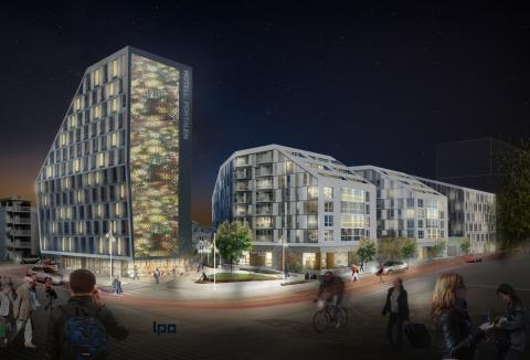 Scandic to build new hotel at Norway's biggest exhibition center in Lilleström