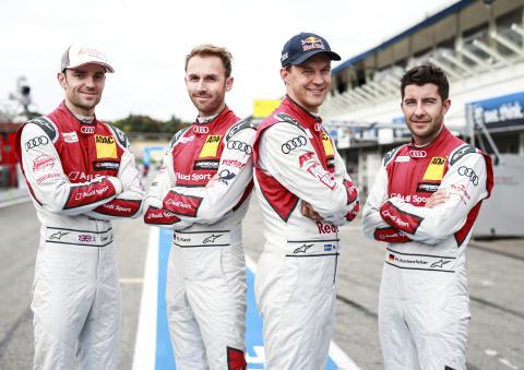 Jamie Green, René Rast, Mattias Ekström, Mike Rockenfeller