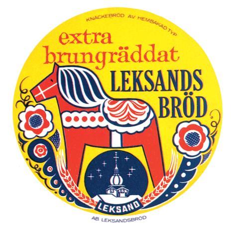 Historia - 1964 - Brungräddat bröd och nytt varumärke