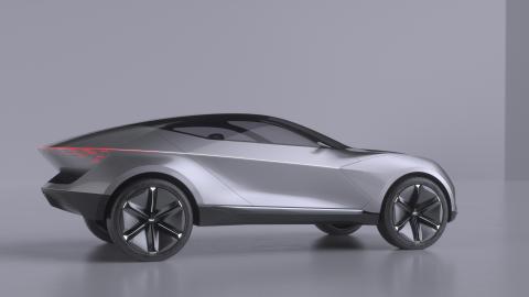Kia visar nytt elbilskoncept: Kia Futuron Concept