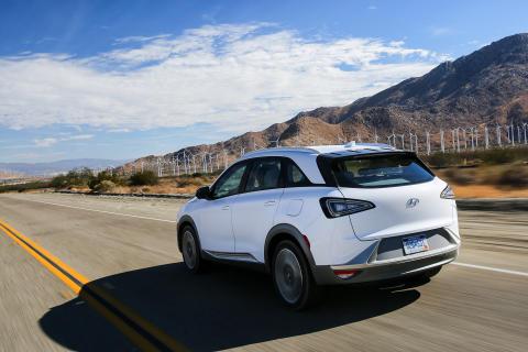 Hyundai NEXO - nästa generation bränslecellsbil (FCEV).