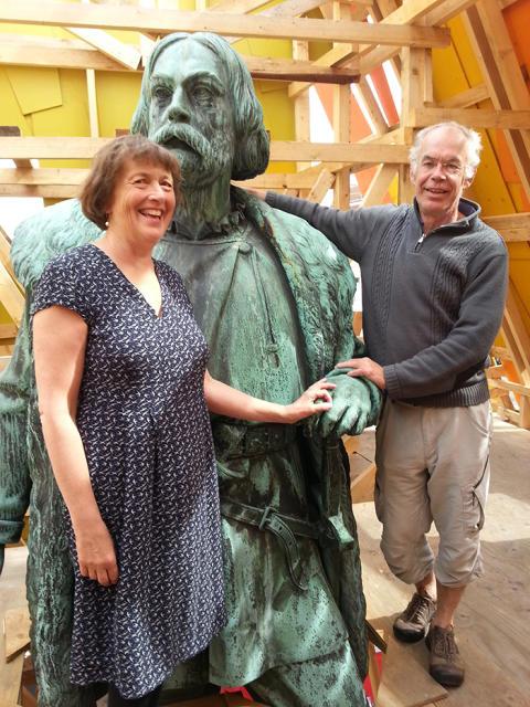 Astrid Lindén och Clas Thor – Årets Jeremiasstipendiater