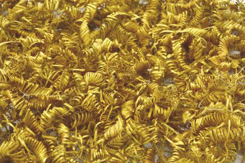 Guldspiraler er en gåde for arkæologerne