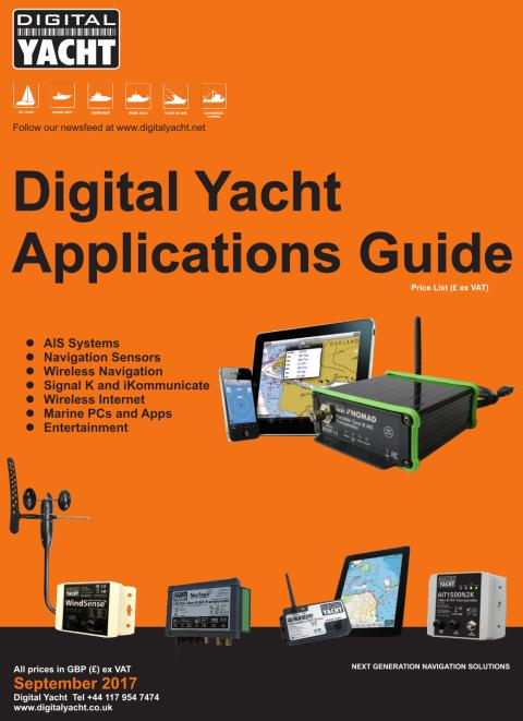 Digital Yacht September 2017 Price List Now Available