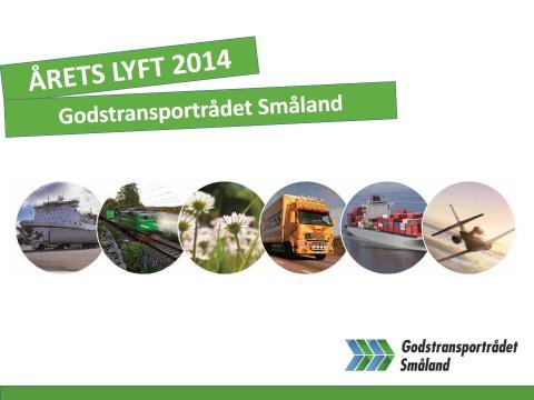Pressinbjudan: Transport- och miljöpriset Årets Lyft delas ut 22 september