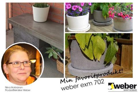 Ninas favoritprodukt: weber exm 702