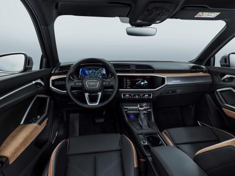 Audi Q3 interiør med alcantara