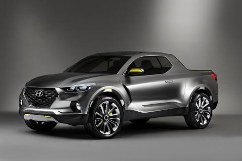 Hyundai med pick-up for byfolk