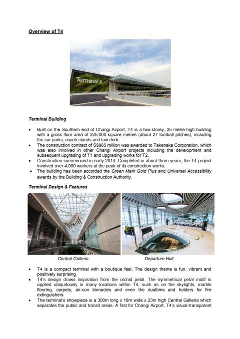 Overview of T4