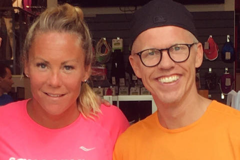 Kändisar tävlar i Swimrun under Östersjöfestivalen