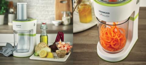 Kenwood Spiralizer sätter hälsosam skruv på din matlagning