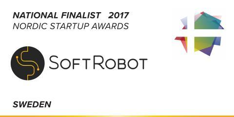 SoftRobot nominerade till svenska finalister i Nordic Startup Awards