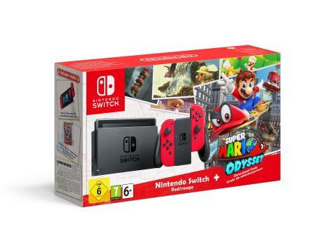 Nintendo Switch - Super Mario Edition