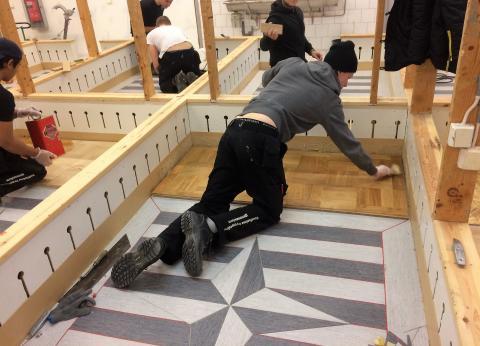 Stockholm blir centrum för golvläggare