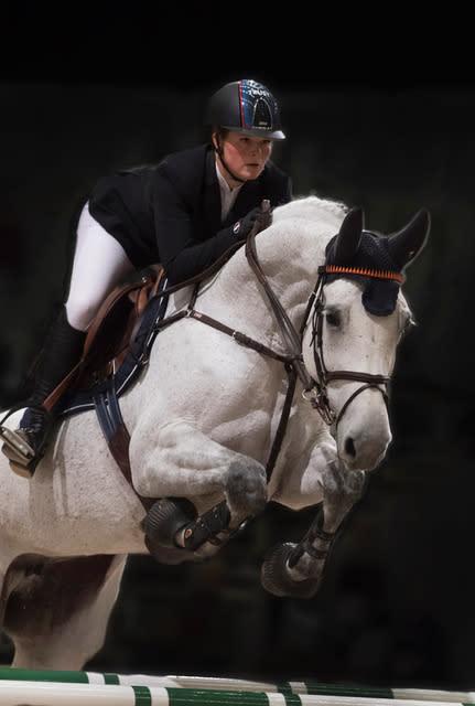 Agria Djurförsäkring presenterar clinic med Stephanie Holmén och Carl Hedin på Elmia Scandinavian Horse Show