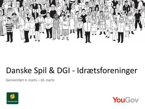 Danske Spil og DGI undersøgelse om danskernes holdning til idrætsforeninger