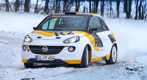 Mångsidiga Opel ADAM: Livsstilsbil blir rallybil!