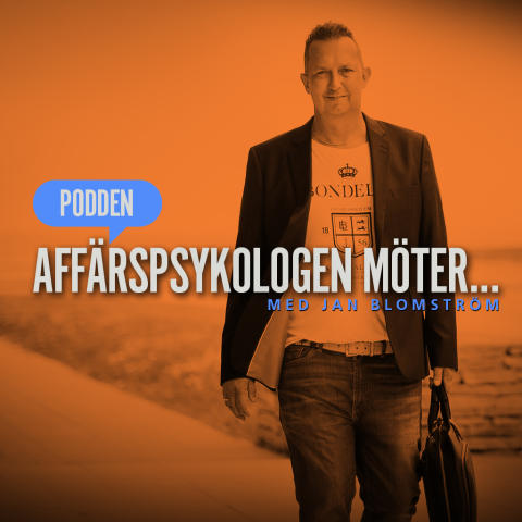 Frontbild: Podden Affärspsykologen möter...