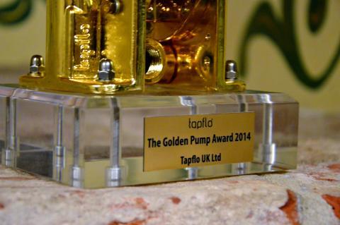 Tapflo Gold Pump Award 2014