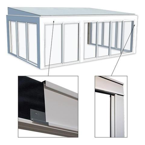 Uterummet Drömma tar designkliv med aluminiumbeklädd stomme