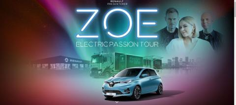 ZOE ELECTRIC PASSION TOUR MED KEIINO