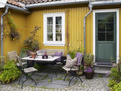 Slik velger du riktig farge til huset!