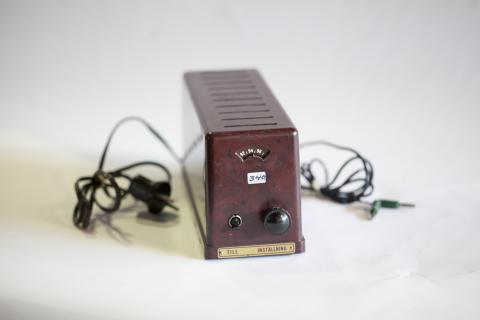 Historisk samling fra NRK til Norsk Teknisk Museum. FM-adapter