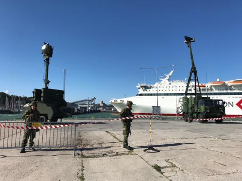 Fast luftvärn på Gotland - pressträff med ÖB i Visby, måndag morgon 09:15