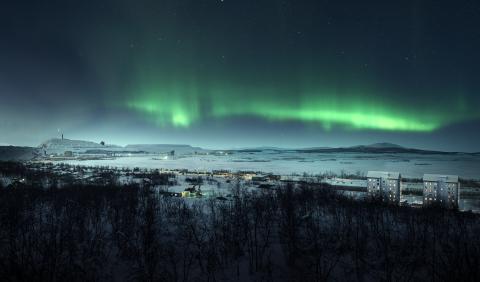 Brf Fjällvyn, Kiruna, Riksbyggen