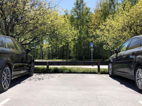 En egen plats för bilen