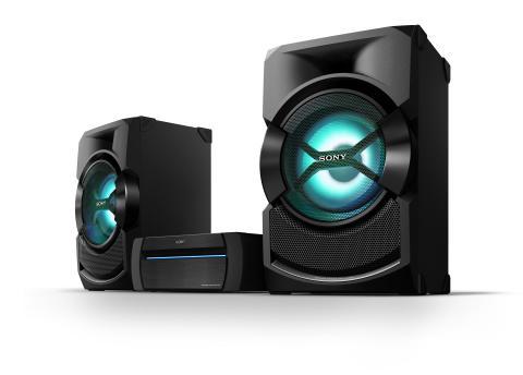 Deite a casa abaixo com os novos sistemas de áudio de alta potência da Sony