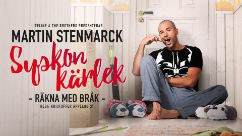 """Martin Stenmarck laddar för nypremiär av kritikerrosade föreställningen  """"Syskonkärlek"""" på turné!"""