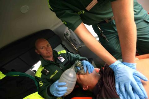 HLR i ambulans