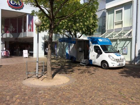 Beratungsmobil der Unabhängigen Patientenberatung kommt am 26. September nach Zweibrücken.