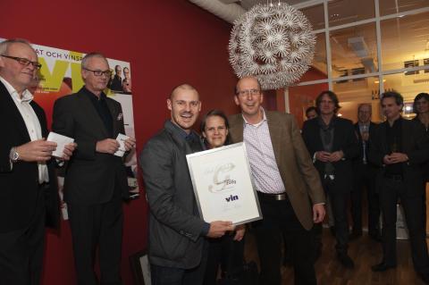 Årets vinimportör 2009 prisutdelning