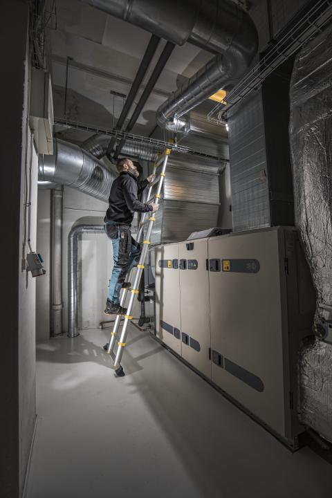 Nya teleskopstegar från Wibe Ladders