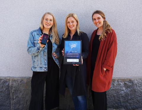 Anti-näthatsappen We Stand App är Månadens Nätängel april 2019
