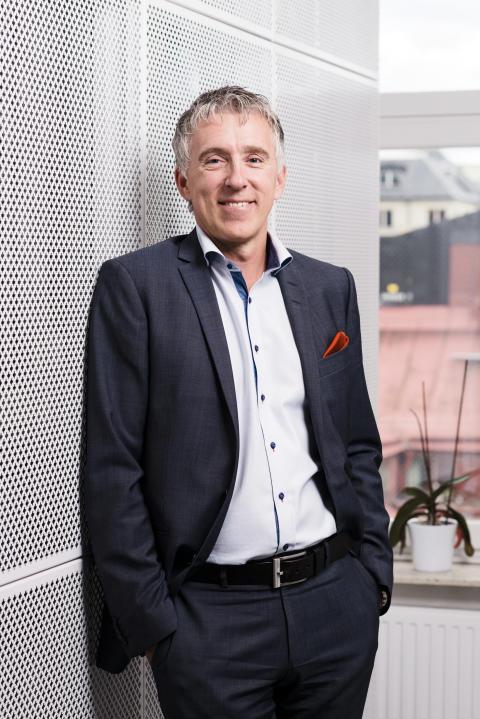 Johan Fredriksson, tidigare vd och koncernchef, Praktikertjänst.