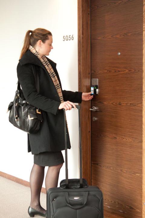 Mobiler ersätter hotellnycklar på Clarion Hotel Stockholm