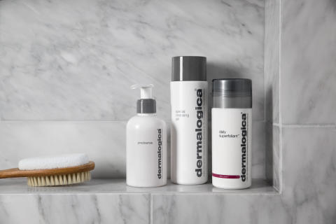 Daily Superfoliant, Precleanse and Special Cleansing Gel in Shower