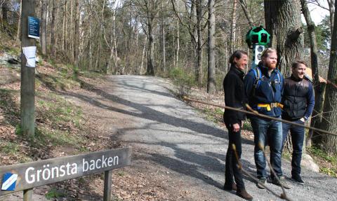 Lidingöloppet – Snart i Google Streetview