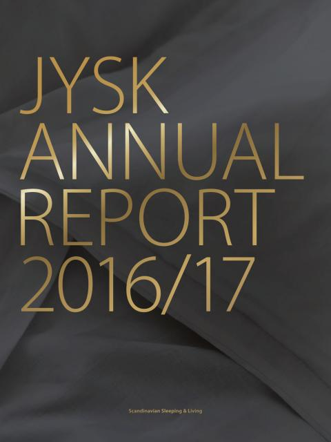 JYSK Annual Report 2016/2017