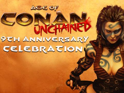 Age of Conan celebrates 9th anniversary!