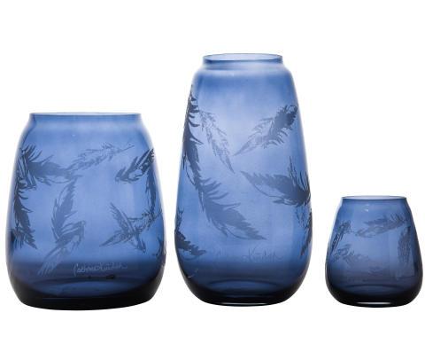 Kolleksjon_Produktbilde_blaa_Hadeland Glassverk Siccori Stille bevegelser Cathrine Knudsen