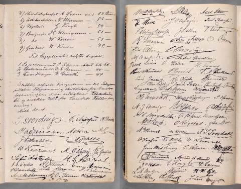 Forhandlingsprotokollen for Norges Venstreforening 1884-1909