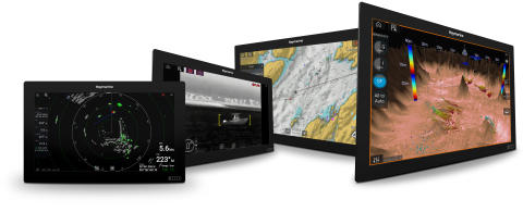 Raymarine: FLIR presenta i display multifunzione Axiom XL Raymarine