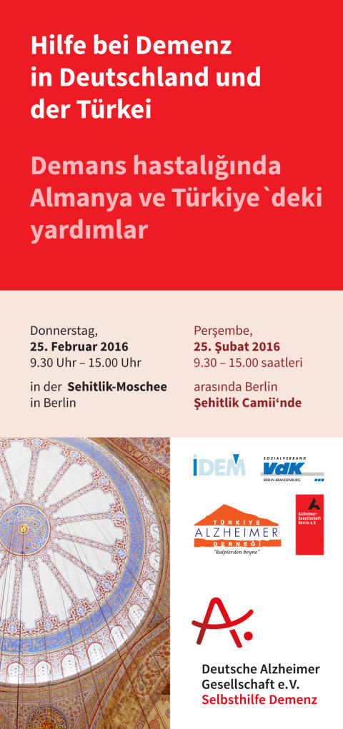 Deutsch-türkische Informationsveranstaltung am 25. Februar 2016 in Berlin