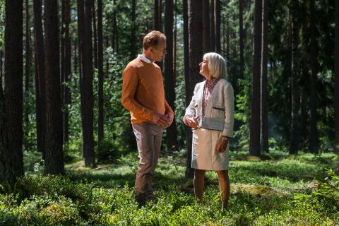 Reklamfilm med Gunde Svan